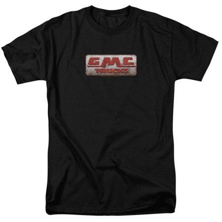 Regular Fit Tee - Gmc - Beat Up 1959 Logo Adult Regular Fit T-Shirt - Adult Regular Fit T-Shirt / S / Black
