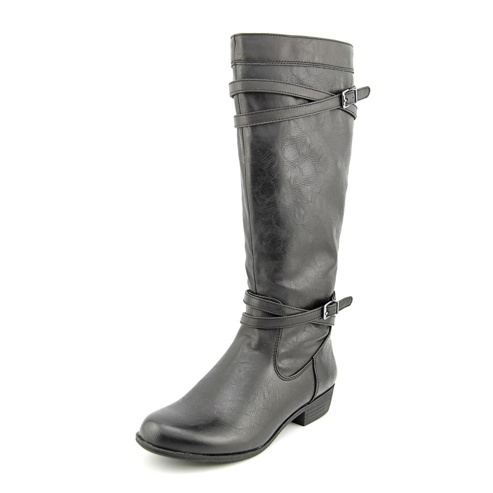 Naturalizer Victorious Round Toe Synthetic Knee High Boot by Naturalizer