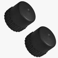 Greenworks 2103102CT 2 Pack of Genuine OEM Replacement Bump Knobs # 341041429AB-2PK