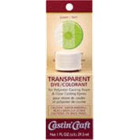 Environmental Technology 46428 1 oz Casting Craft Transparent Dye, Red