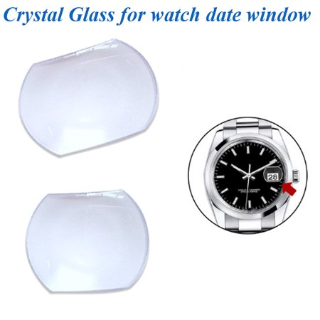 Sapphire Bubble Magnifier Lens for Date Window Watch Crystal Glass Glue Magnify