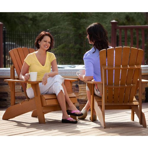 Lifetime Recycled Plastic Adirondack Chair by Generic