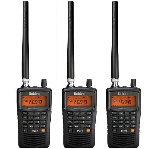 Uniden SR30C Bearcat  500-Channel Compact Handheld Police Nascar Scanner NEW
