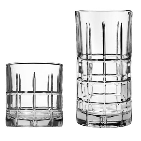 Manchester 16-Piece Drinkware Set - Custom Drinking Glasses