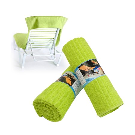 Beach chaise lounge chair cover towel 100 usa ringspun for Chaise lounge covers cotton