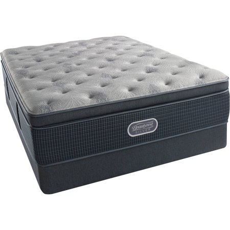 Beautyrest Silver Brewer Luxury Firm Pillow Top Mattress Set  In Home White Glove Delivery Included