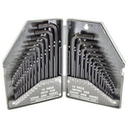 Electronix Express 30 Piece Hex Allen Wrench Set-SAE/MM
