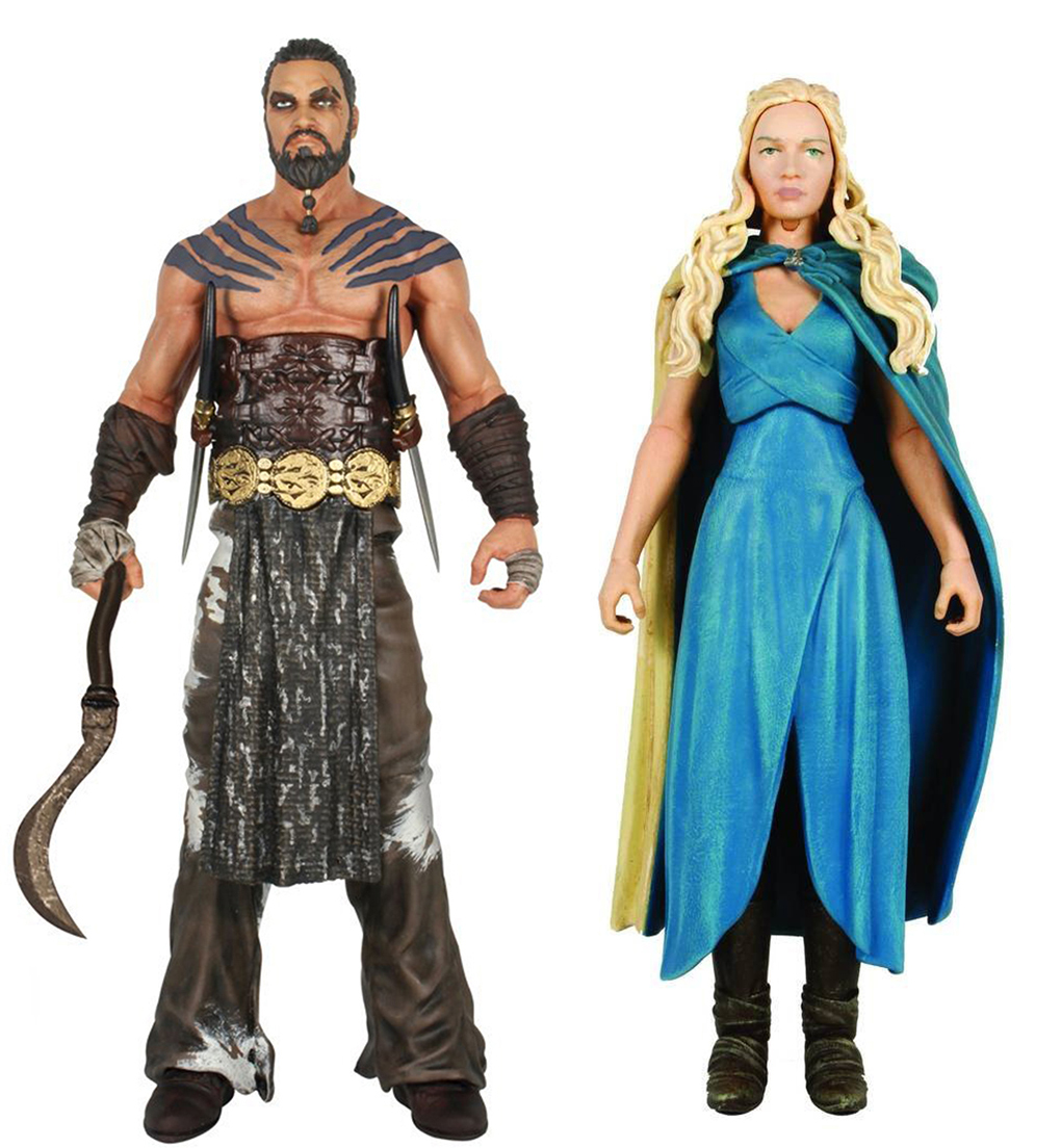 "Game of Thrones Funko 6"" Legacy Action Figure Bundle: Daenerys & Drogo"