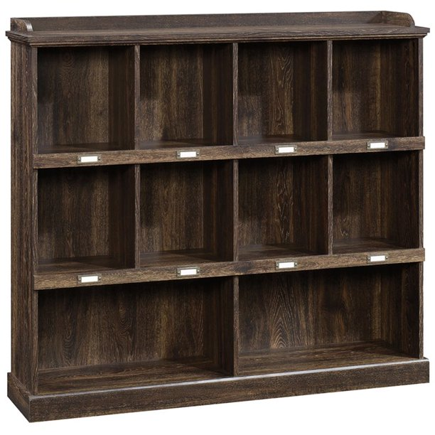 Sauder Barrister Lane Bookcase, Iron Oak Finish