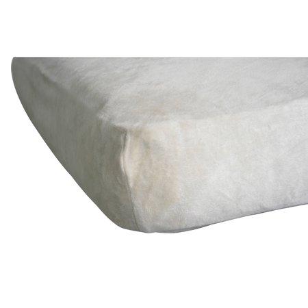 Pacific Coast Home Furnishings Beloved Bear Baby Crib Sheet - Cream