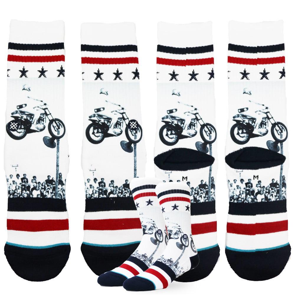 Helly Hansen Mens White Cotton Crew Sport Socks 3-Pack Large UK 9-12 EUR 43-46