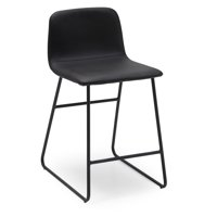 MoDRN Industrial Dax Counter Stool, Multiple Colors