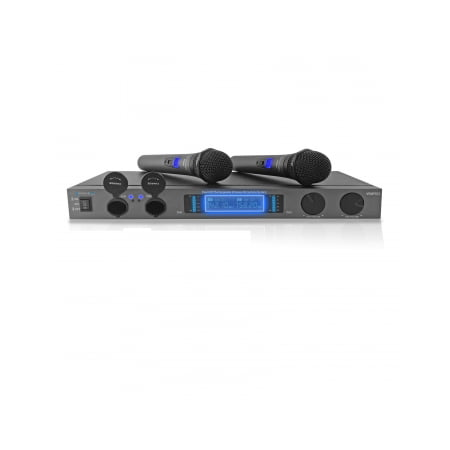 Technical Pro wmr52 Professional UHF Dual Rechargeable Wireless Microphone -