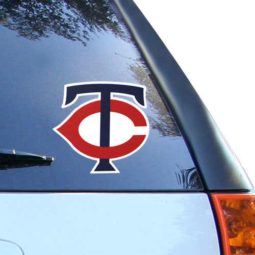 """Minnesota Twins WinCraft 8"""" x 8"""" Color Decal - No Size"""