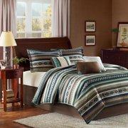 Home Essence Beau 7-Piece Micro Herringbone Bedding Comforter Set