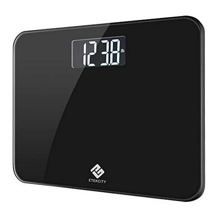 Etekcity Digital Body Weight Bathroom Scale with Extra Large Display, 440 Pounds, Elegant