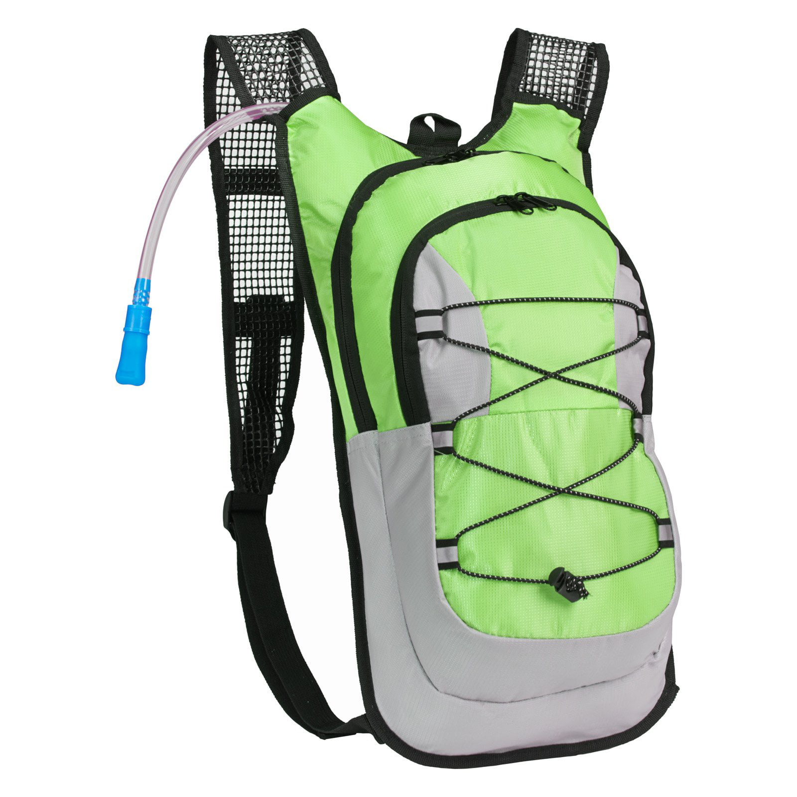 Click here to buy Equipped Outdoors Hydration Pack 2 Liter Water Bladder with Extra Large Storage Compartment Backpack by Equipped Outdoors.