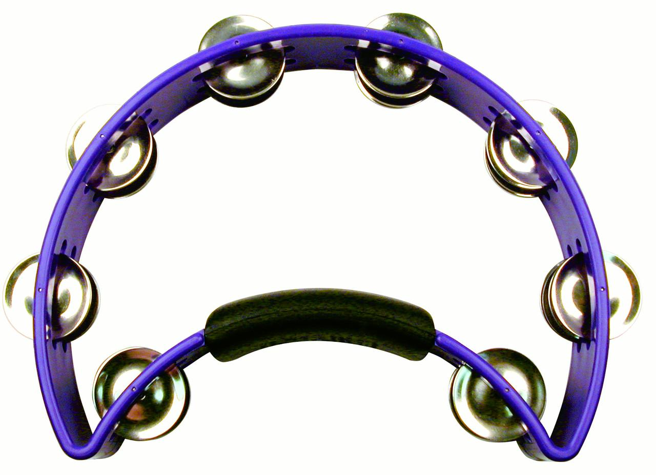 Rhythm Tech RT1080 Tambourine Purple by Rhythm Tech