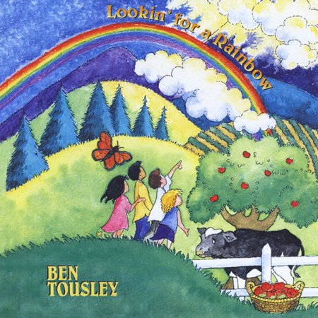 Lookin' for a Rainbow (CD) Bens 1997 beloved childrens album includes odes to Emily the Cow and Johnny Appleseed and the title song which has become a childrens music favorite as well as classics such as Bill Staines quot;Place in the Choirquot; and quot;This Little Light.quot; Recorded live with banjo, fiddle, bass, piano, flute, clarinet and trombone, and enjoyed by all ages!