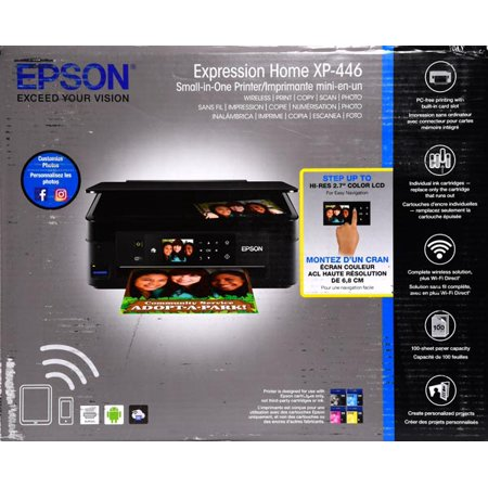 Epson Expression Home XP-446 Wireless Small-in-One Printer