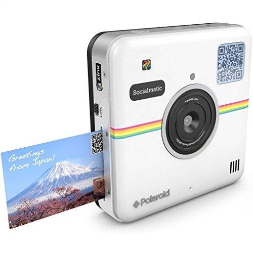 Polaroid Socialmatic Instant Digital Camera (White) by Polaroid