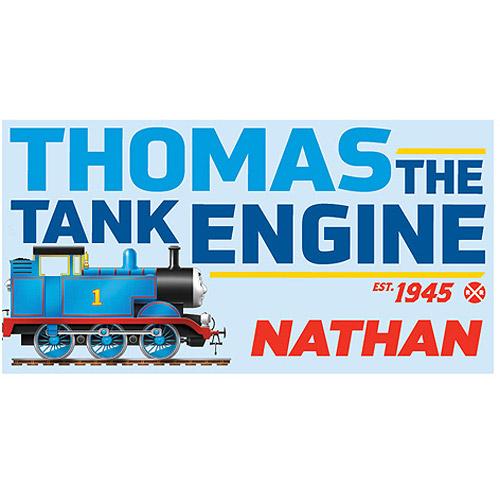 Personalized Thomas & Friends Tank Engine Beach Towel