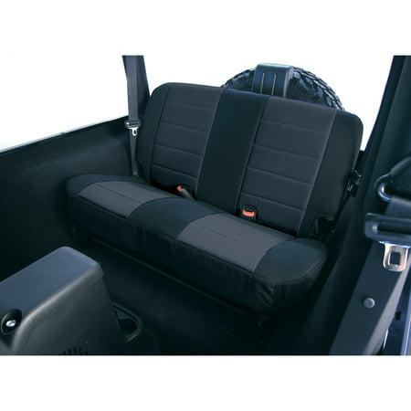 Rugged Ridge 13261.01 Custom Neoprene Seat Cover Fits 97-02 Wrangler