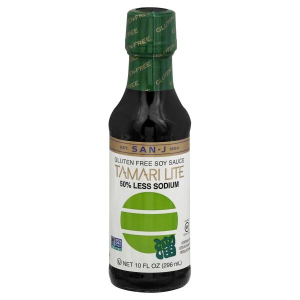 San J Tamari Lite 50 Less Sodium Gluten Free Soy Sauce