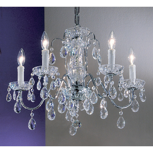 Classic Lighting Daniele 5 Light Chandelier