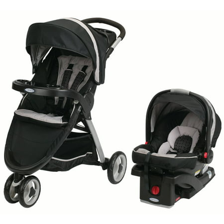 Graco FastAction Fold Sport Click Connect Travel System,