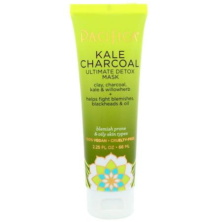 Pacifica  Kale Charcoal  Ultimate Detox Mask  2 25 fl oz  66 ml - Demon Mask