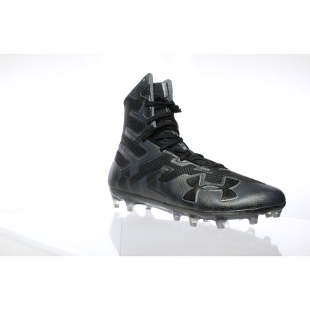 Under Armour Mens Highlight Mc Black Lacrosse Cleats Size
