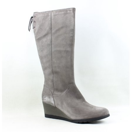 UGG Womens Dawna Grey Fashion Boots Size 11 (Light Grey Ugg Boots)