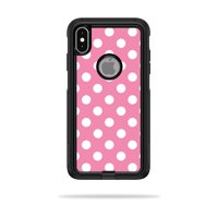 Skin for OtterBox Commuter iPhone XS Max Case - Mini Dots | Protective, Durable, and Unique Vinyl Decal wrap cover | Easy To Apply, Remove, and Change Styles