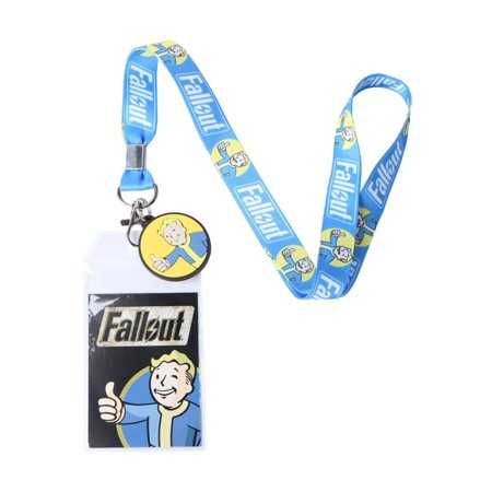 Fallout Blue Vault Boy Lanyard - Fallout Vault Suit For Sale