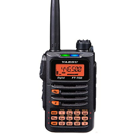 FT-70DR FT-70DE Original Yaesu 144/430 MHz Digital/Analog Handheld Transceiver - C4FM / FDMA - 3 Year Manufacturer Warranty
