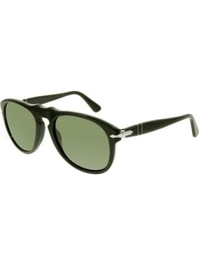 5d43d32e2e Product Image Persol Men s PO0649-95 31-52 Black Square Sunglasses