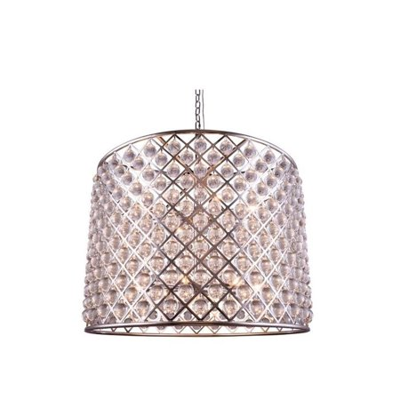 Twelve Light Crystal Pendant - Elegant Lighting Madison 36