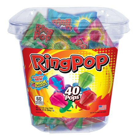 Product of TOPPS Ring Pops Variety Pack, 40 pk. [Biz Discount] - Ring Pops