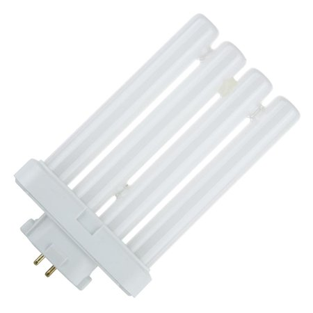 27W FML 4-Pin Quad Tube GX10Q-4 6500K Daylight Compact Fluorescent Bulb, Fluorescent bulbs are energy saving bulbs and last up to 10 times longer than incandescent bulbs By (27w Tube)