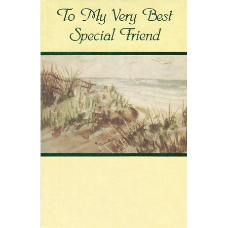 To My Very Best Special Friend (F2), Cover: To My Very Best Special Friend By Popular Greetings Ship from