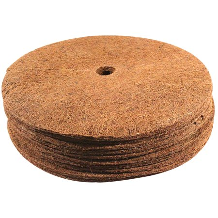 Envelor Coco Fiber Tree Ring Coir Mulch Mat Disc Plant