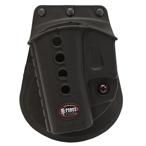 Fobus Glock 17 19 22 etc Walther PK380 LH Pdl SKU: GL2E2LH with Elite Tactical Cloth by Fobus
