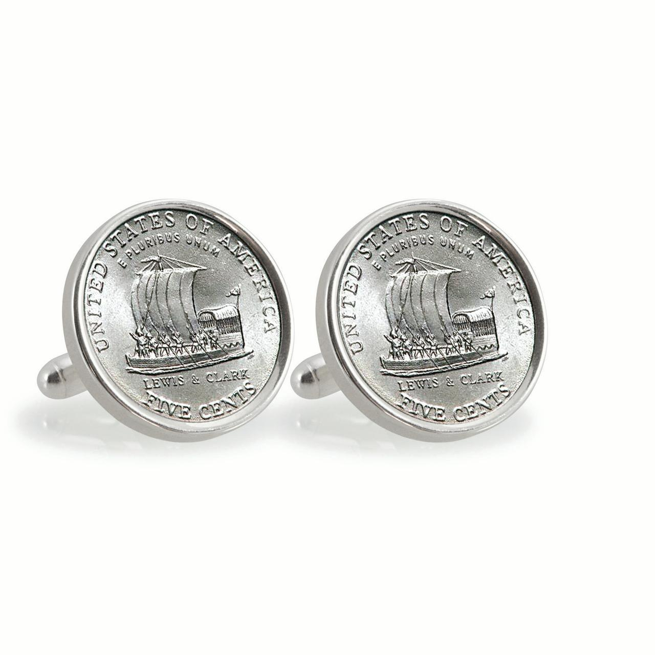UPM Global LLC 12784 2004 Keelboat Sterling Silver Cuff Links