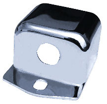 BKRider Relocation Ignition Switch Cover For Harley-Davidson-MW17-25