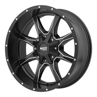 Moto Metal MO970, 17x8 Wheel with 6 on 135 and 6 on 5.5 Bolt Pattern - Black - MO97078067900