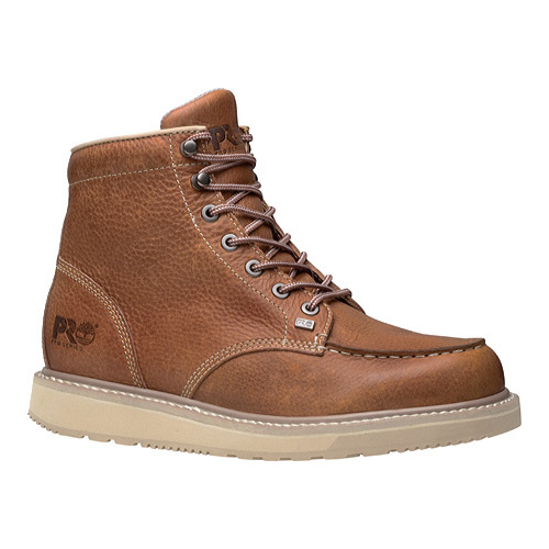 """Men's Timberland PRO Barstow Wedge Boot 6"""" Moc Soft Toe"""