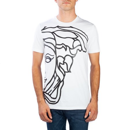 f237c08af4f Versace - Versace Collection Men s Cotton Medusa Graphic T-Shirt White -  Walmart.com