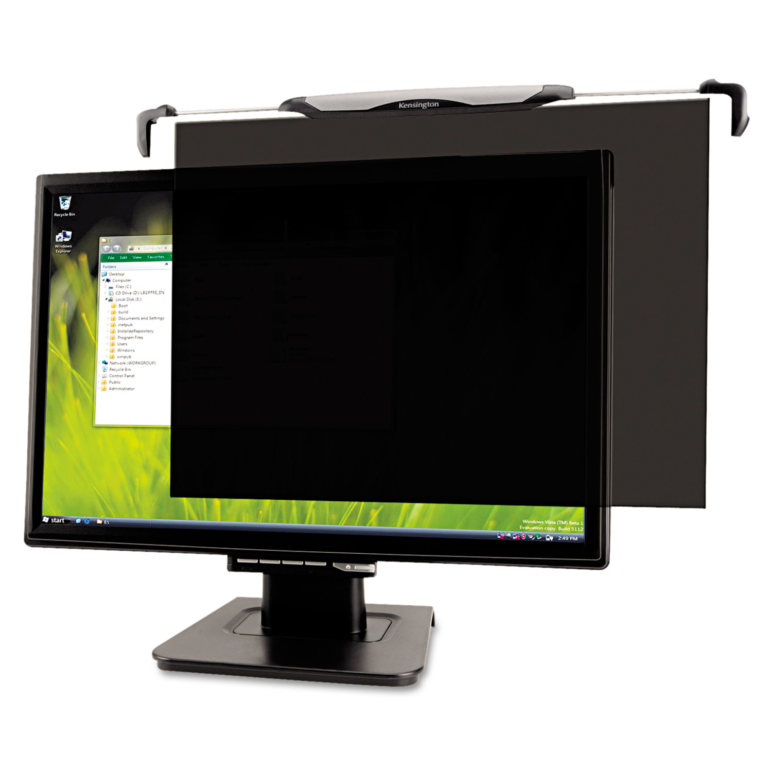 """Kensington Snap2 Privacy Screen for 20""""-22"""" Widescreen LCD Monitors"""