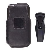 Wireless Solutions Leather Case for Samsung SCH-U310 Knack - Black